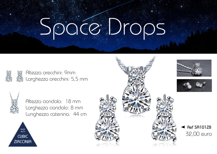 12 space drops